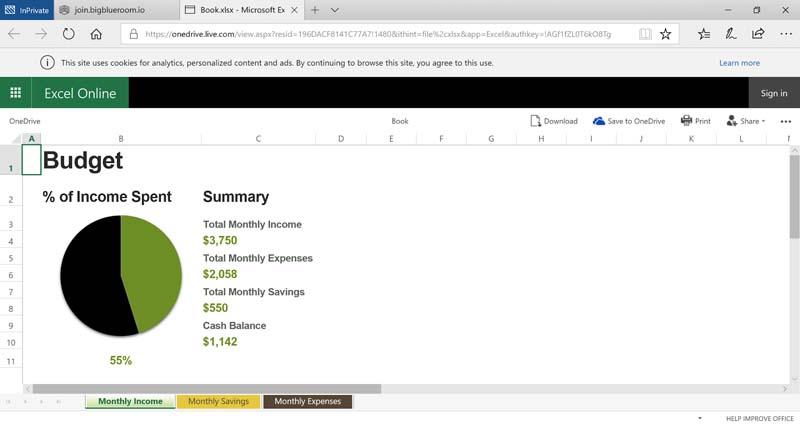 10- Microsoft Excel 365 Online Integration | Microsoft Office 365