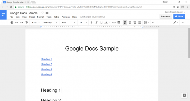 Embed Google Doc 2