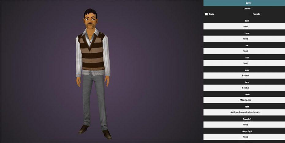 Virtual reality learning avatars