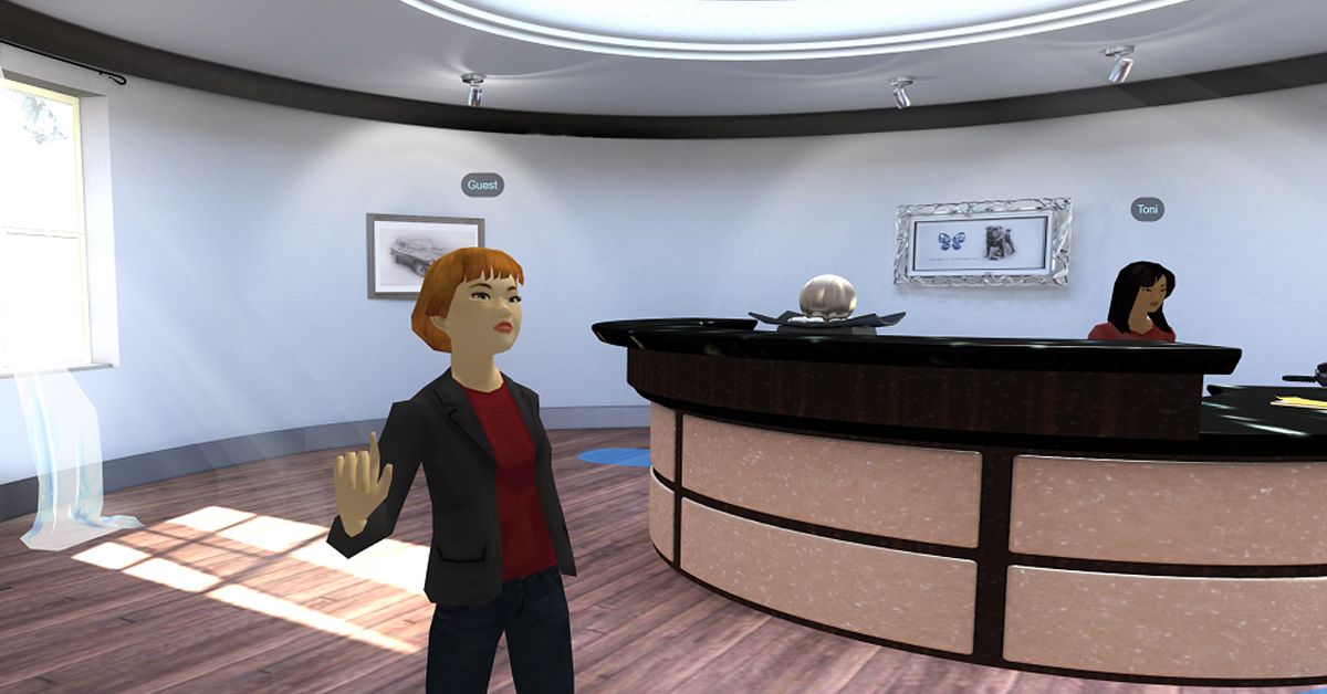 Vr Hospitality Training Hotel Front Desk Elearning Scenario